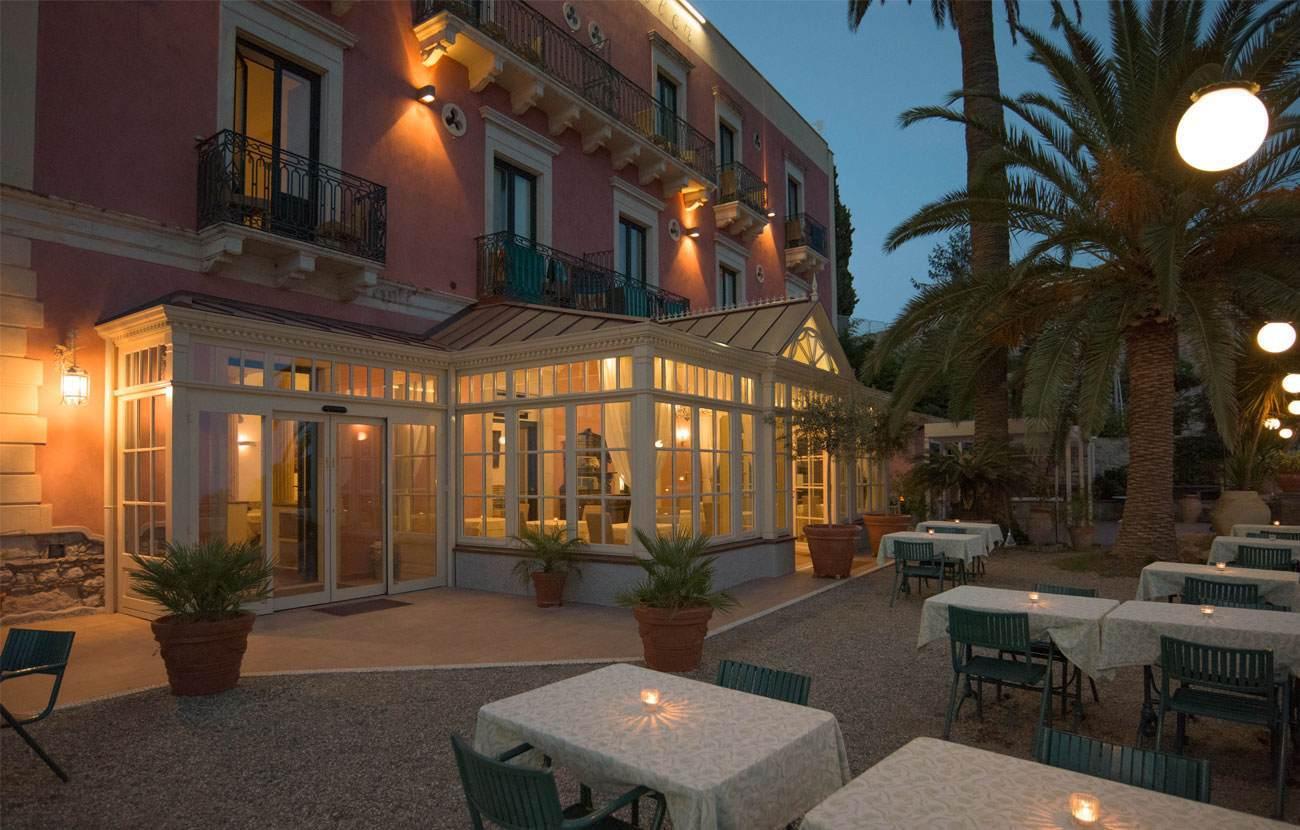 Hotel Villa Schuler Taormina Sicily